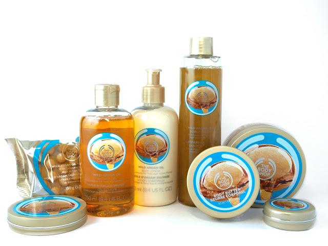 Productos corporales con aceite de Argán Salvaje