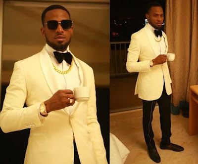 D'banj Looks Fresh & Fine At The Glo CAF Awards