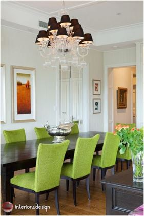 Green Color In Details Of Interior Designs 6
