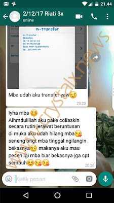 Testimoni facial cleanser nasa