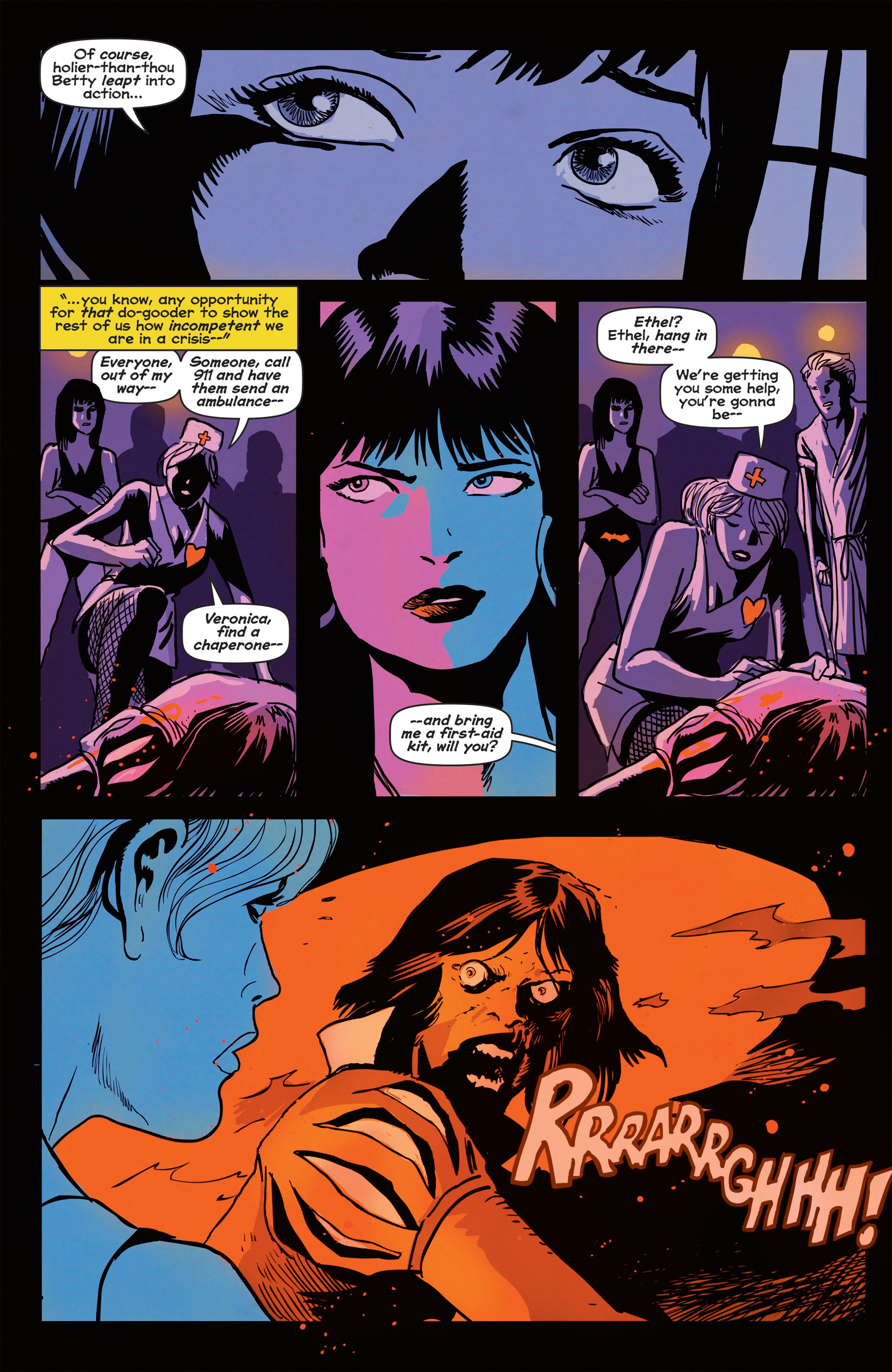 Read online Afterlife with Archie comic -  Issue #2 - 17