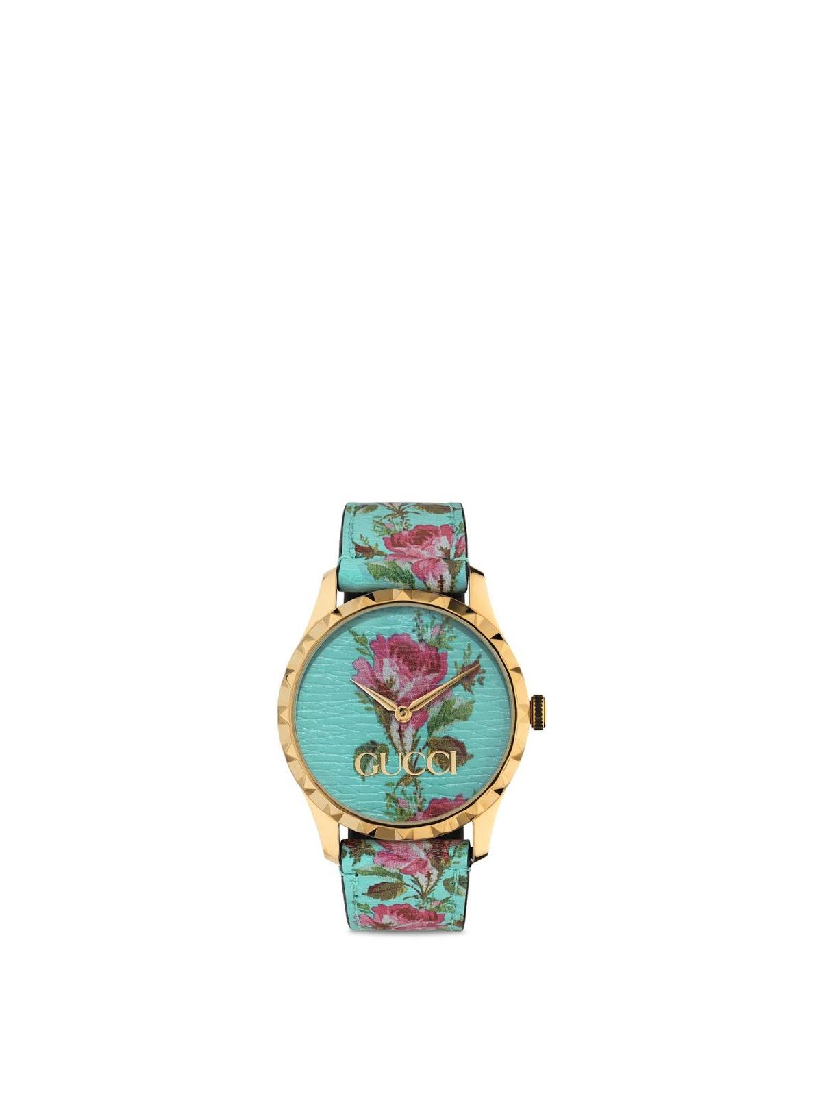 7223523eb8425 Estação Cronográfica  Relógios Gucci G Frame, G Timeless e G Frame ...