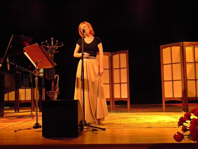 zbór, Sulechów, scena, koncert