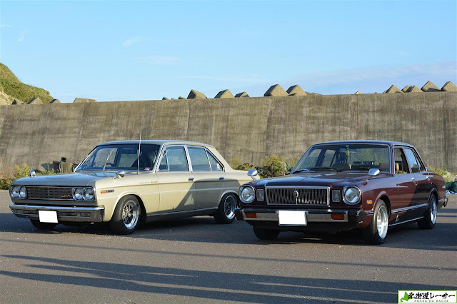 Nissan Cedric & Toyota Mark II, stare samochody