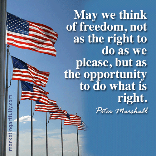 4th of july christian quotes and sayings