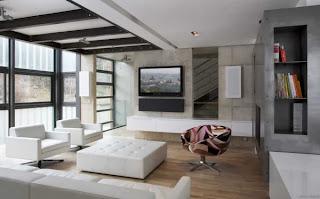 moderna sala minimalista