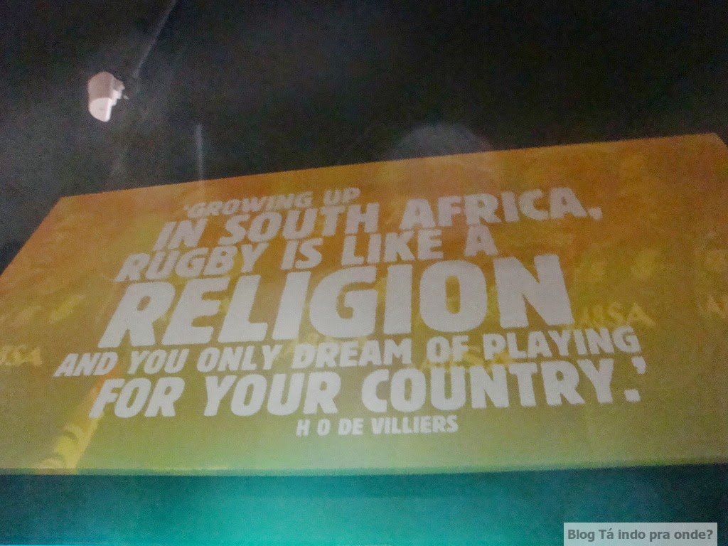 The Springbok Experience, museu do rugby na Cidade do Cabo