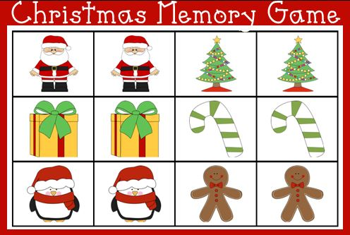 Free printable Christmas games for Kids Toddlers and Children