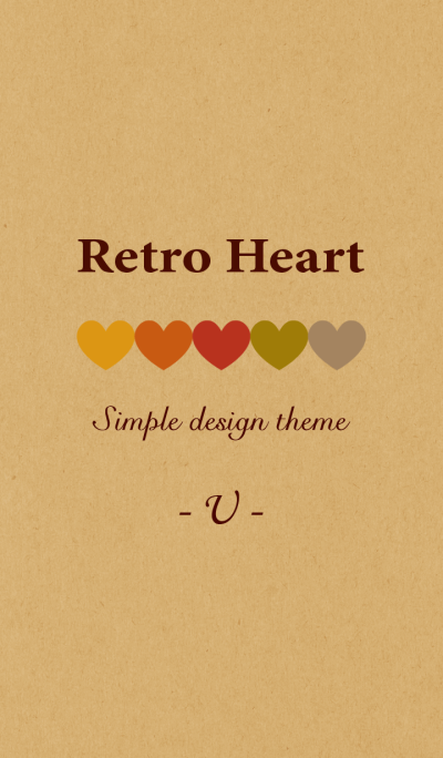 Kraft Retro Heart