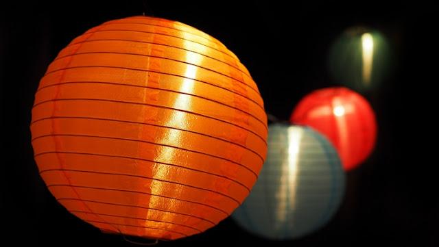 Indahnya Lampu Lampion