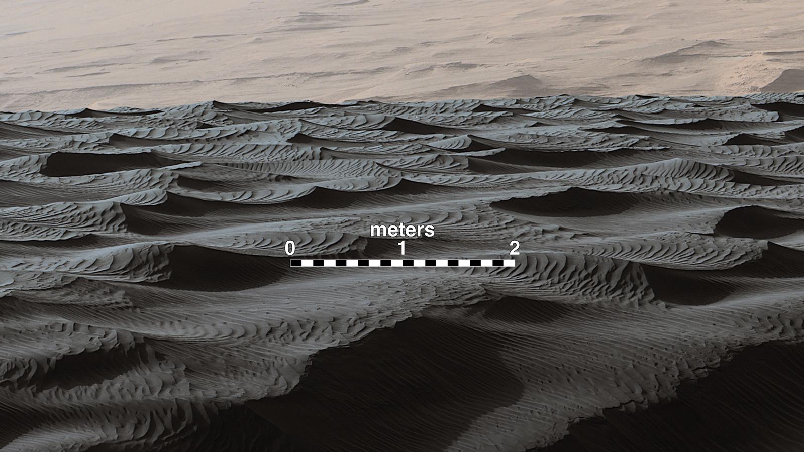 NASA Rover's sand-dune studies yield surprise - The ...