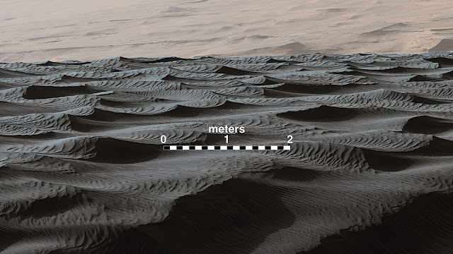 NASA Rover's sand-dune studies yield surprise