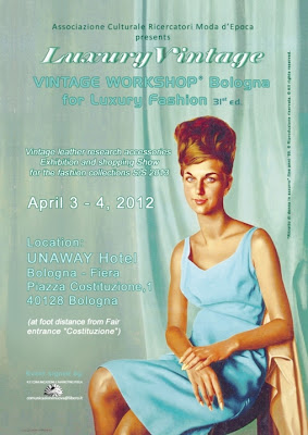 Vintage Workshop for Luxury Fashion, Lineapelle, Bologna April 2012