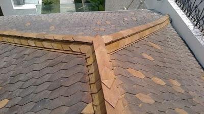 (NEW PRODUK) Harga atap sirap kayu Ulin kalimantan untuk hunian