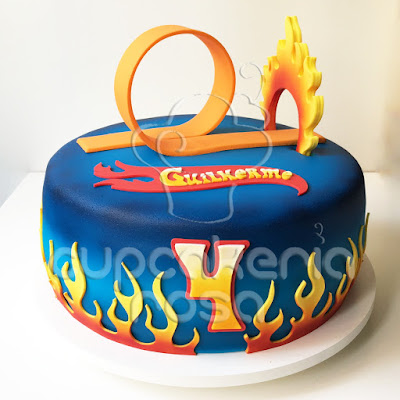 Hot Wheels Cake Images