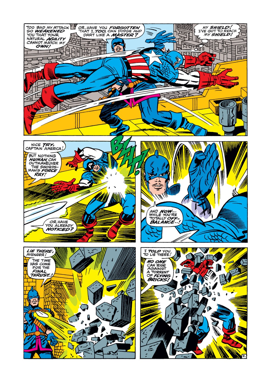 Read online Captain America (1968) comic -  Issue #105 - 12