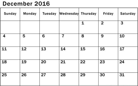 January dates