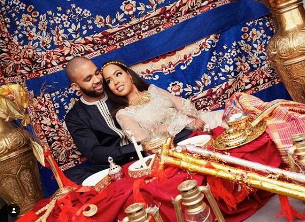 Best looking couple in Nigeria? See pre-wedding photos of billionaire daughter Mairama Indimi and her groom Mustafa Masango