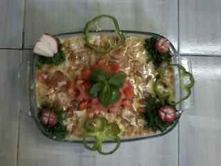 لفطور فتة سورية مع حمص حب