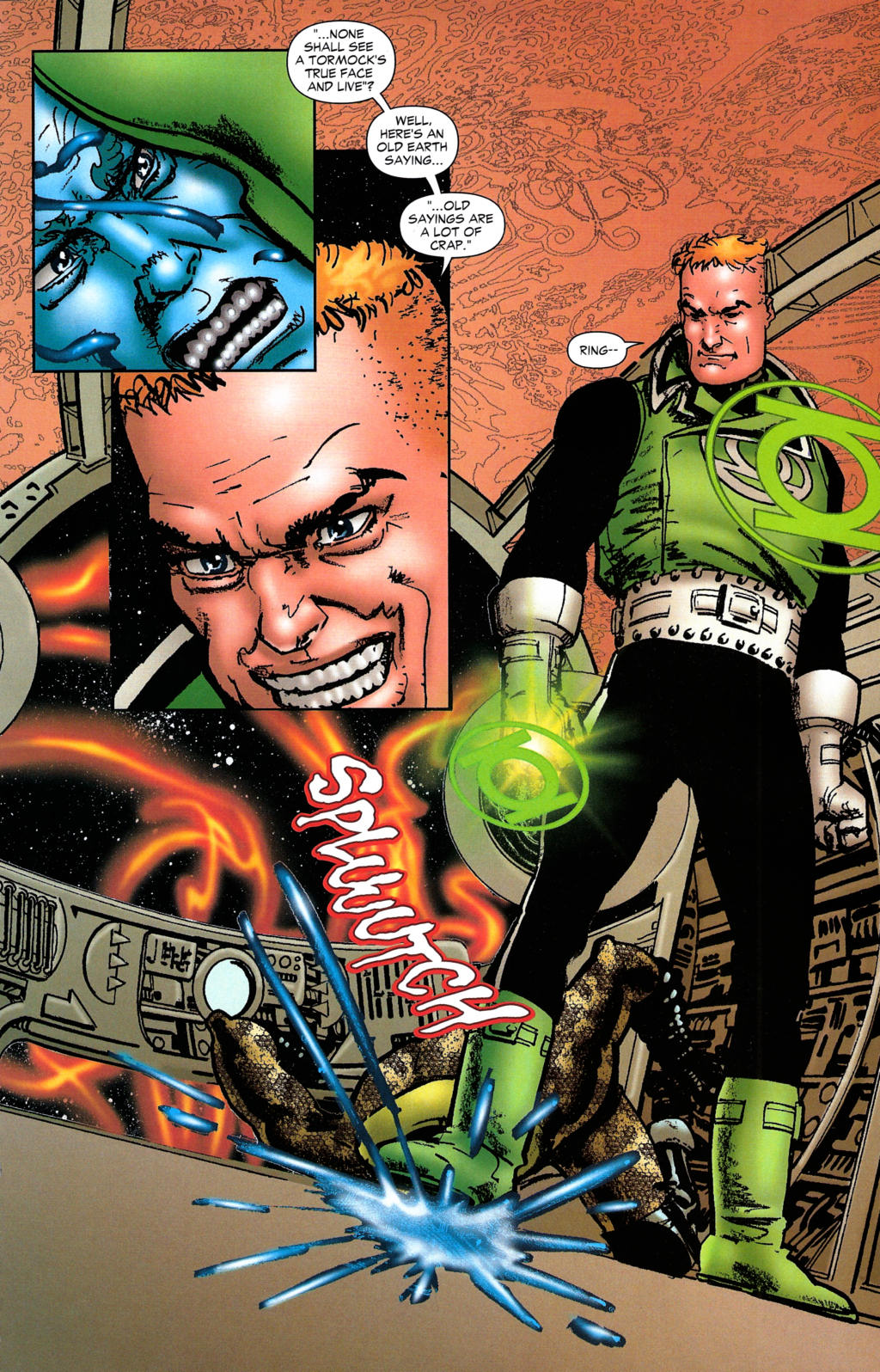 Read online Guy Gardner: Collateral Damage comic -  Issue #2 - 28