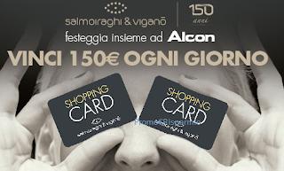 Logo Con i 150 anni di Salmoiraghi & Viganò vinci 216 Card da 150 euro