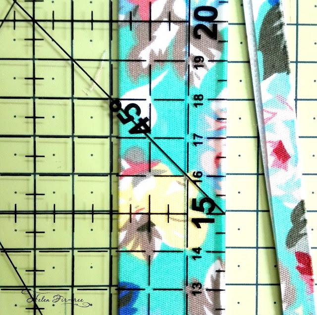 Helen Fir-tree we do belt fabric делаем ремень из ткани