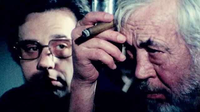 John Huston Peter Bogdonavich Orson Welles | Netflix The Other Side of the Wind