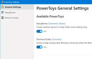 Powertoys per Windows 10