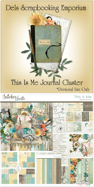 This Is Me Journal Cluster