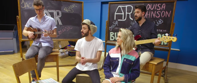 AJR & Louisa Johnson Unveil Acoustic Performance of 'Weak'