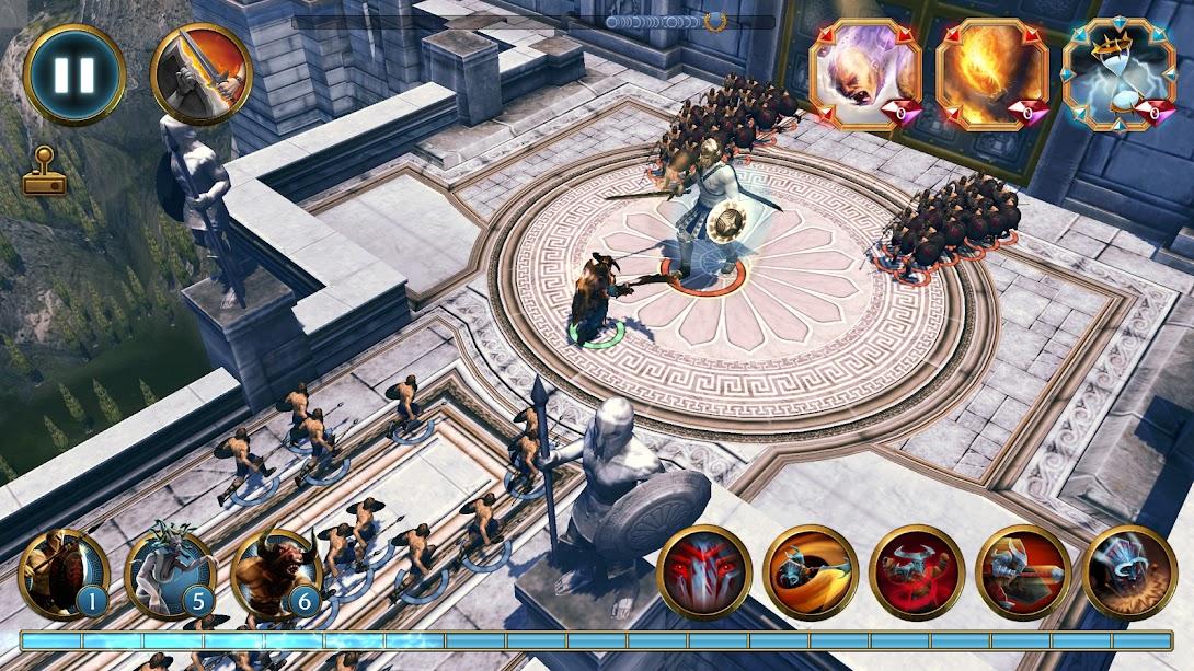 Olympus Rising: Hero Defense-Apklover