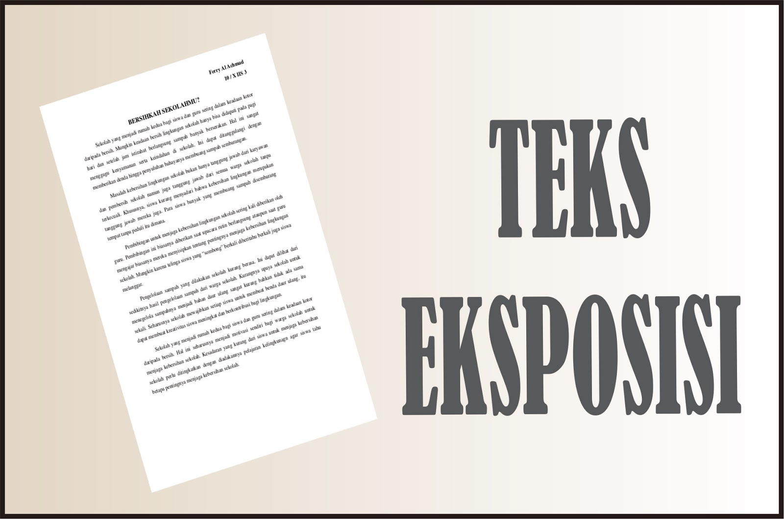 fungsi teks eksposisi