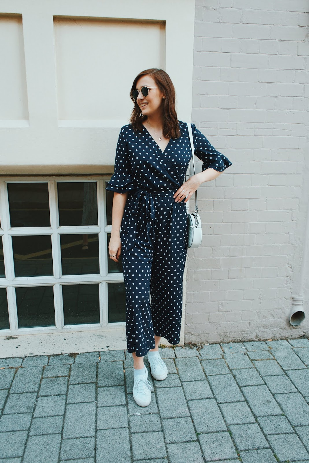 The Polka Dot Jumpsuit // Lauren Rose Style // Fashion Blogger London OOTD WIWT