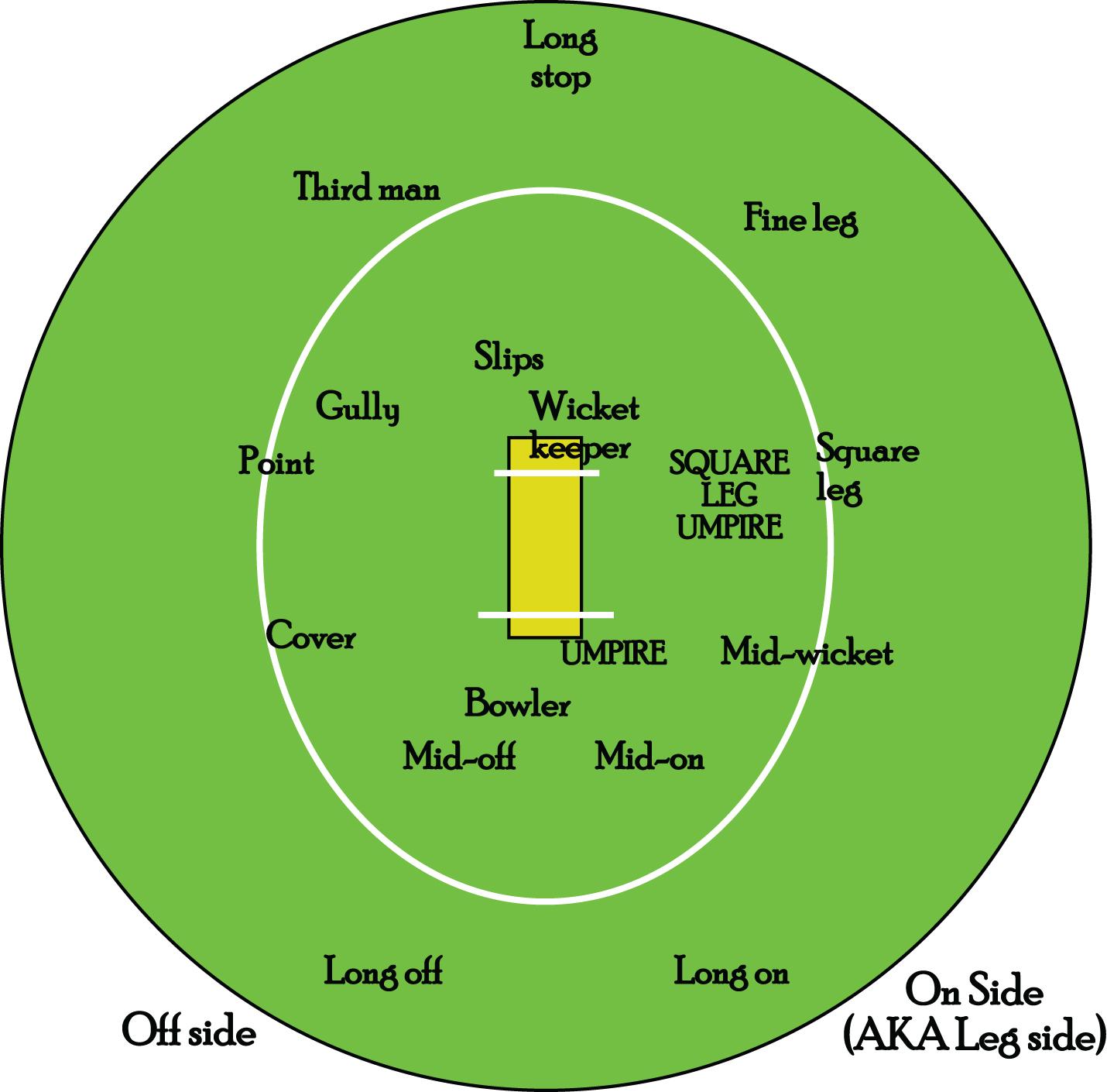 hight resolution of diagram of cricket field