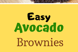 Easy Low Carb Flourless Avocado Brownies Recipe