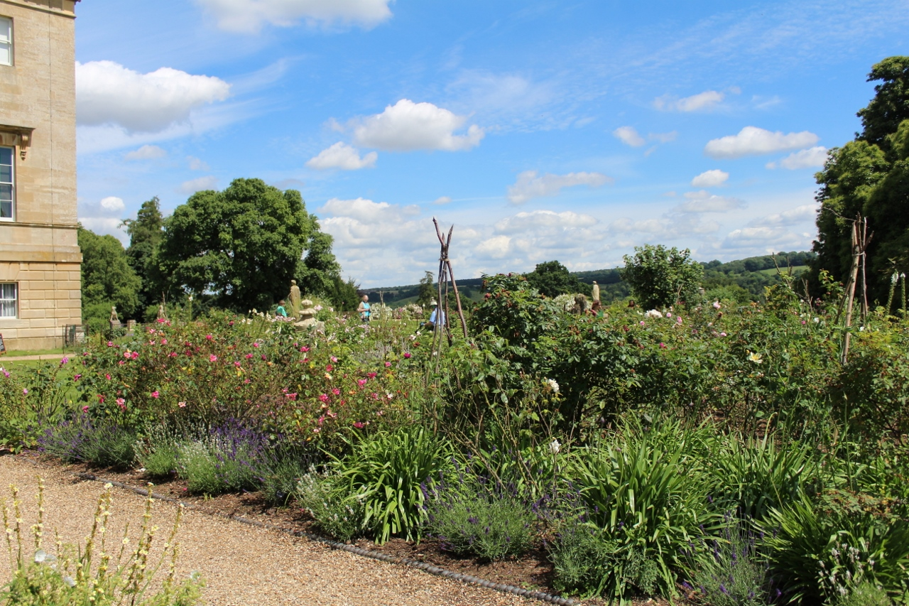 Flower Gardens at Basildon Park National Trust