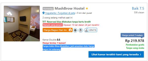 Booking Hotel Online Bayar Ditempat