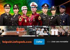 Penerimaan Bintara POLRI Khusus Penyidik Pembantu Pendaftaran Penerimaan POLRI-POLISI 2019-2020