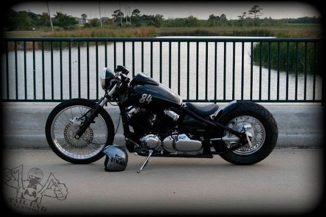 2002 Honda Shadow Vlx 600 Custom Bobber Green With Envy Photography By Not Stock