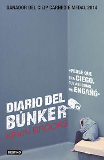 diario de un bunker, kevin brooks, literatura, reseña, libro, juvenil, spoilers,