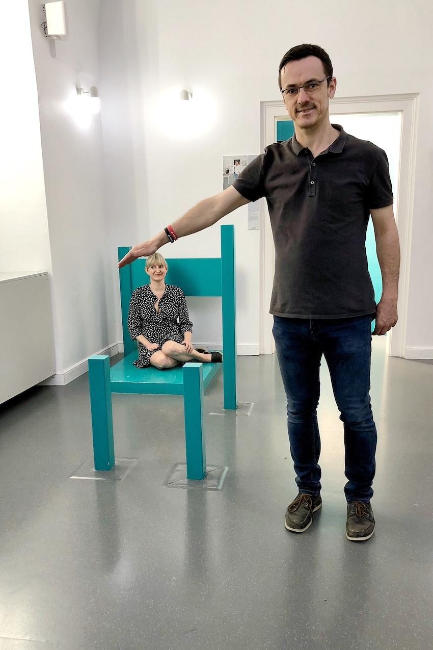 Die Stuhl Illusion