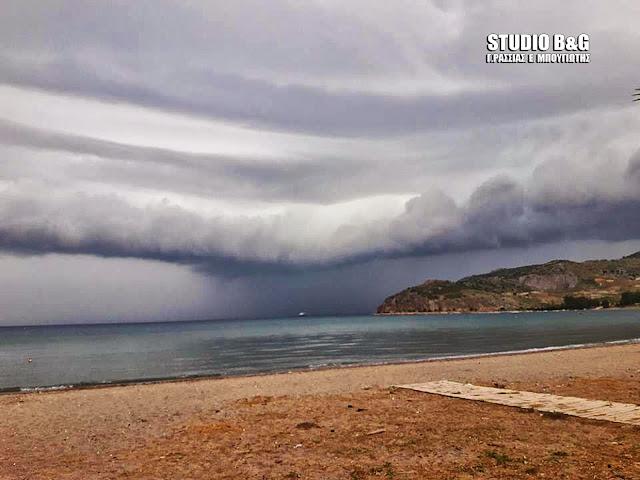 Η φωτογραφία της ημέρας: Η καταιγίδα που έρχεται...