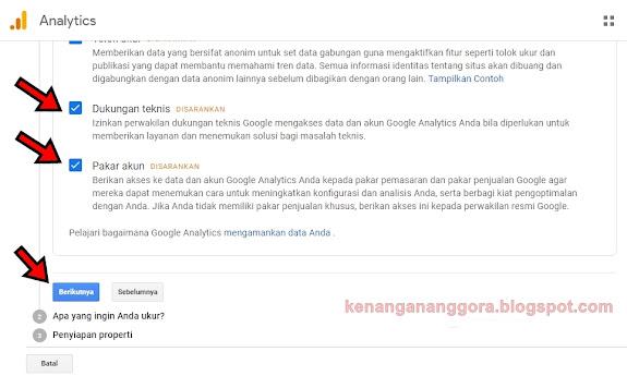 Cara Memasang Google Analytics