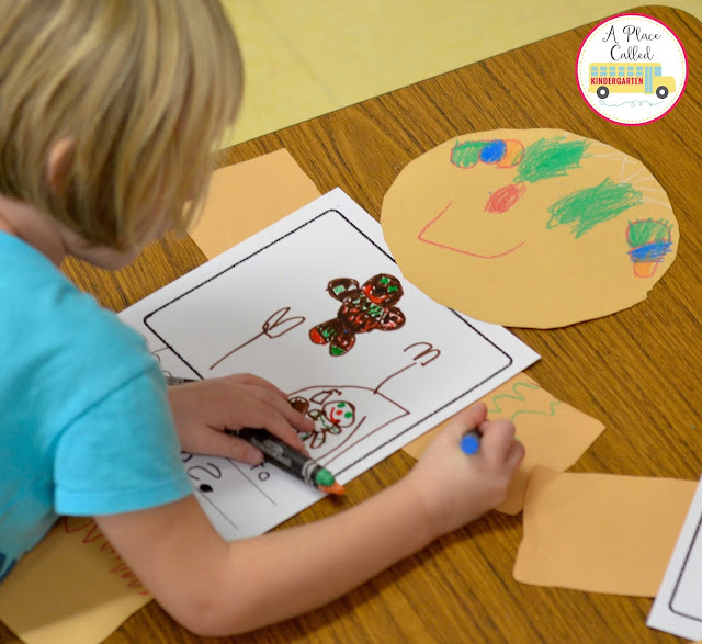 Check out this simple Giant Gingerbread Boy and Girl craft. This is a great activity to do after reading several different versions of the Gingerbread Boy and the Gingerbread Girl. Where would your Gingerbread Boy or Girt run to?