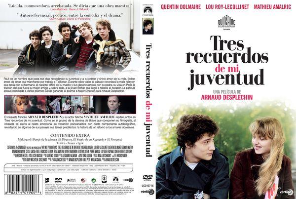 Tres Recuerdos De Mi Juventud – Castellano. Francés – DVD9