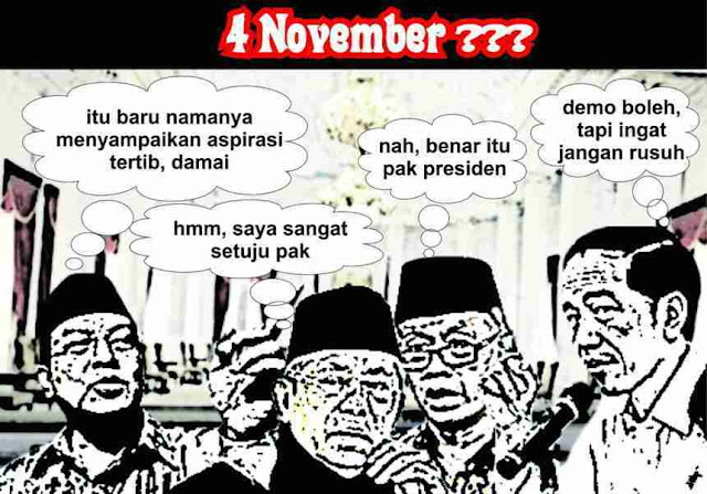 Demontrasi 4 november 2016