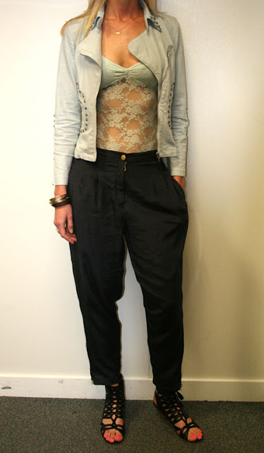 Women This Is What To Wear With Harem Pants Geeks Fashion