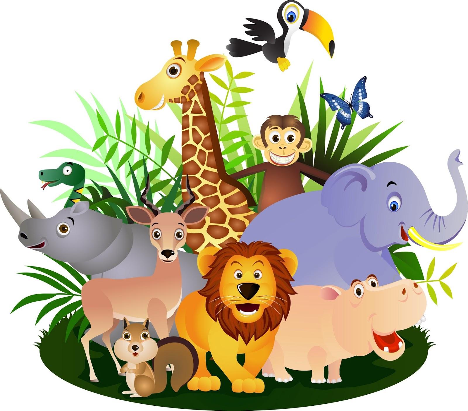 fotos animales de la selva tropical