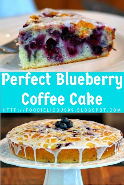 Perfect Blueberry Coffee Cake