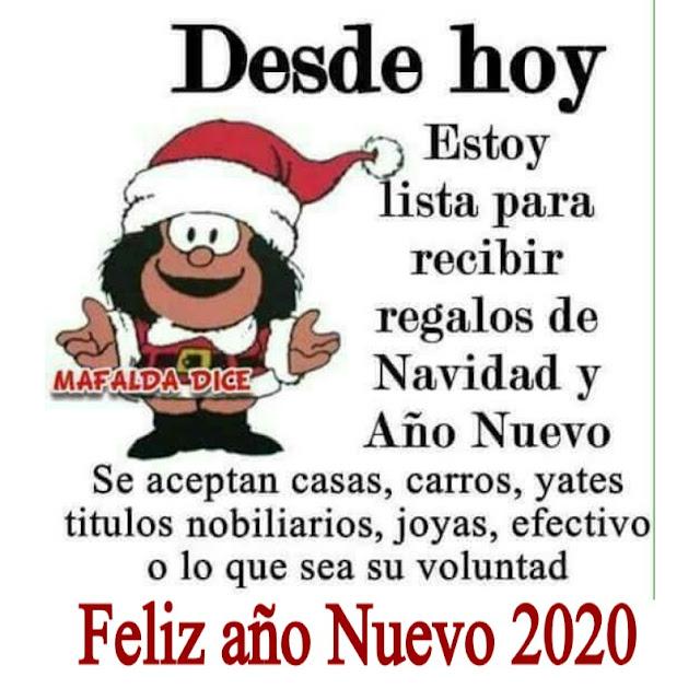 Desde hoy estoy listo para recibir los regalos de navidad y año nuevo..Se aceptan mansiones, yates, carros, joyas, efectivo o lo que sea su voluntad.